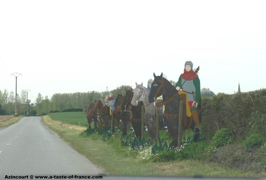 Battlefield at Azincourt