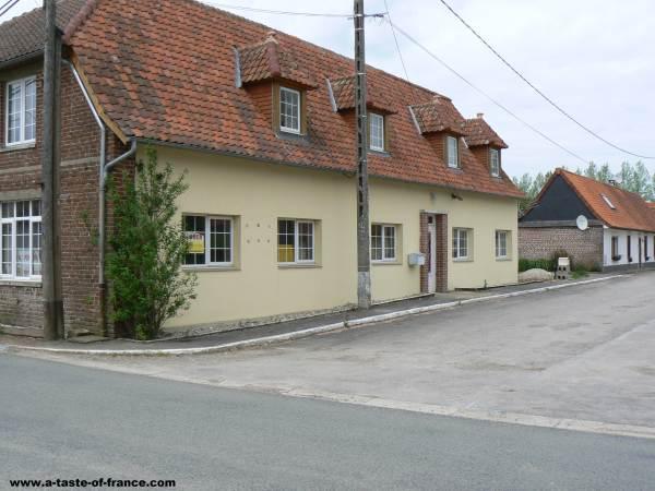 Azincourt  village France