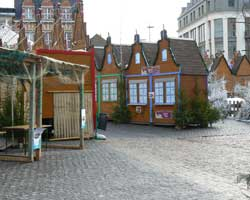 Bethune market stalls picture