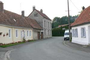 village street Beussent 2 picture