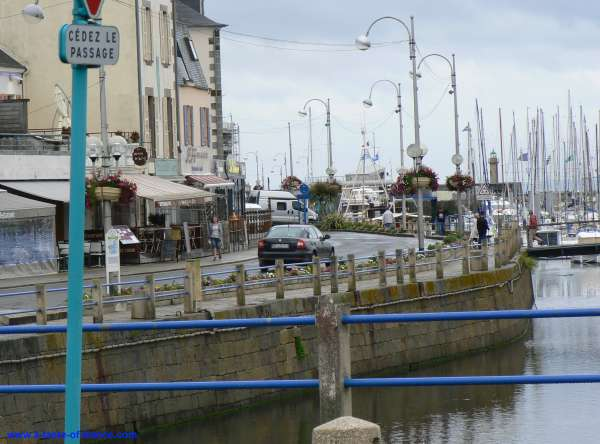 harbour in Binic