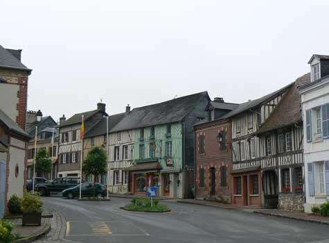 Blangy Le Chateau Normandy village