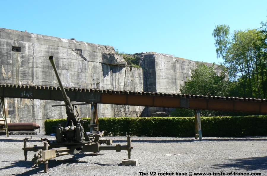 The Blockhaus at Eperlecques V2 rocket site