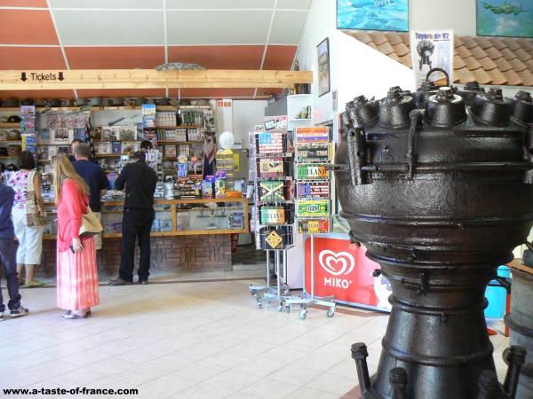 blockhaus Eperlecques shop picture