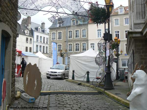 Boulogne sur mer Christmas market