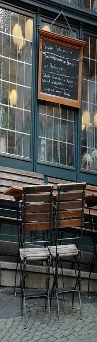 Boulogne cafe