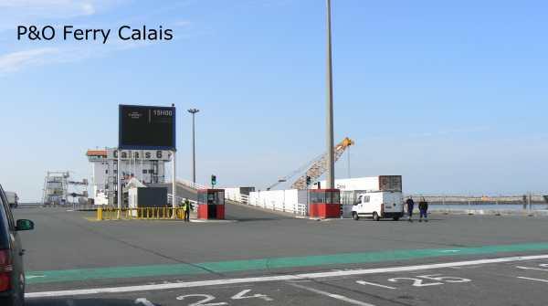 Calais ferry France