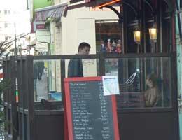Calais cafe picture
