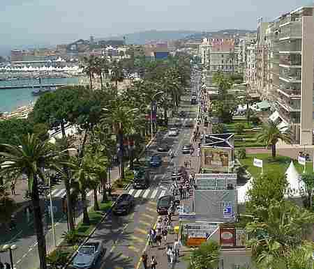 cannes promenade picture