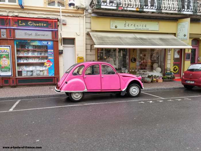 Citroen 2 CV in the seaside town of wimereux