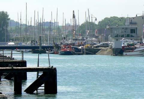 Courseulles sur mer harbour France Calvados Normandy