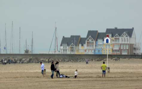 Deauville beach Calvados Normandy