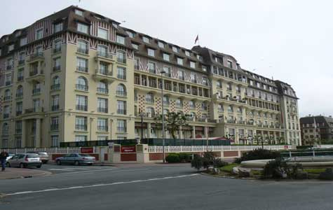 Deauville hotel Normandy
