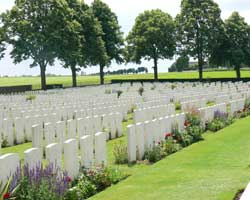 Delville wood cemetery 3 picture