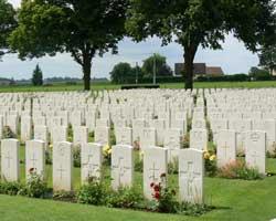 Delville wood graves