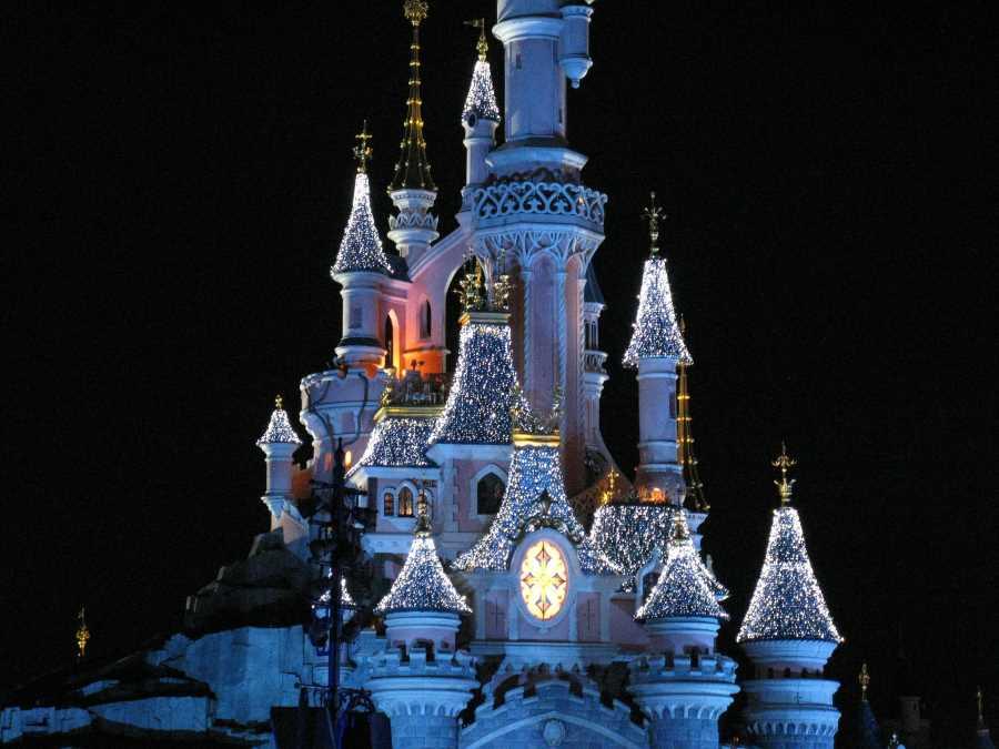 Disney castle France