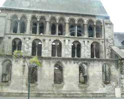 Doullens 13 century church picture