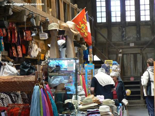 Etretat old market picture