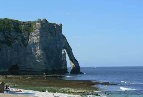 Etretat Cliff Calvados Normandy