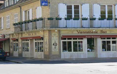 Falaise cafe Calvados  Normandy
