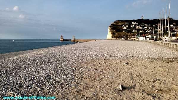 Fecamp cliffs Normandy