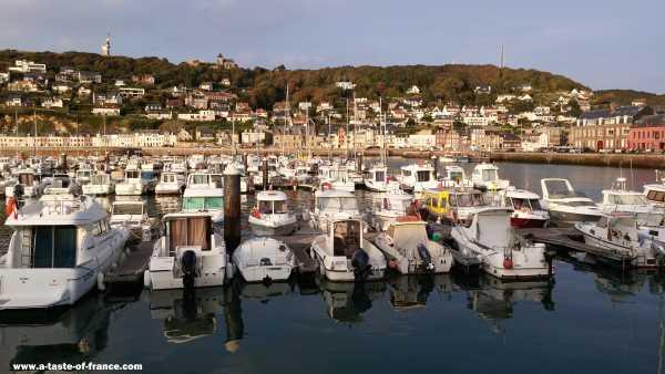 Fecamp Normandy harbour