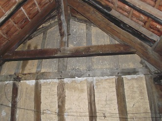 attic gable end