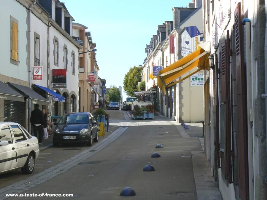 Fouesnant street