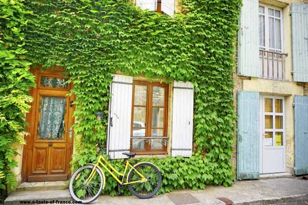 Old house with shutters France picture
