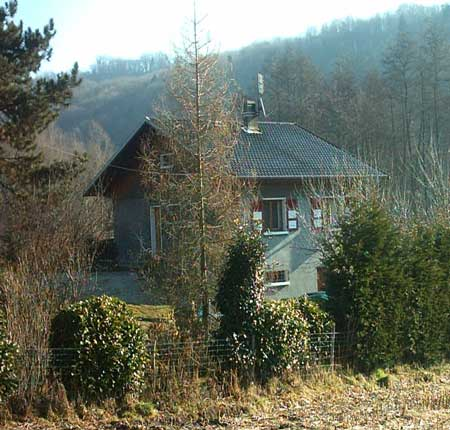 HOUSE IN A PARK OF SAVOIE