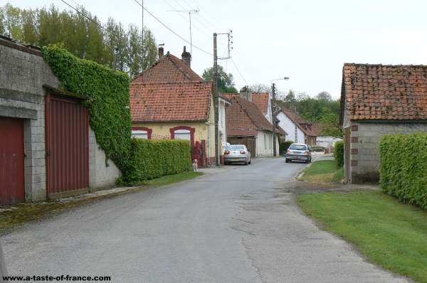 The village of Fressin