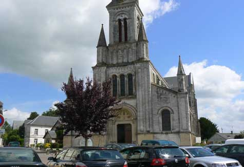 Goderville church Normandy