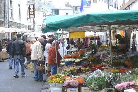 Granville market Manche  Normandy