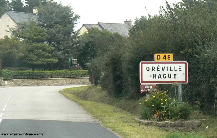 Greville Hague   village in Normandy