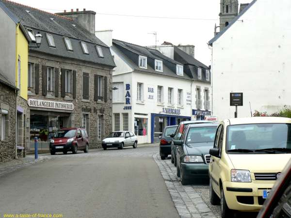 the village of Guisseny  Brittany