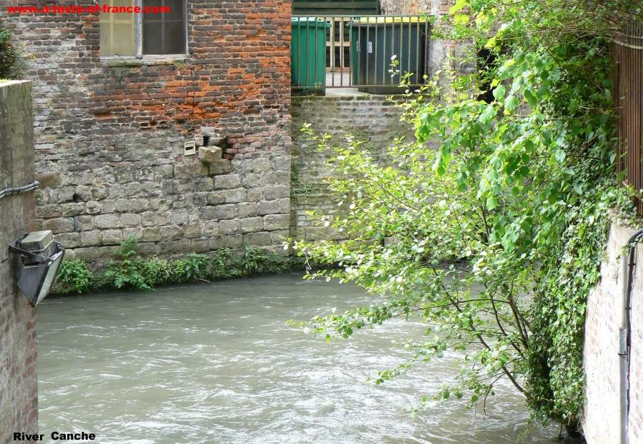 River Canche in Hesdin