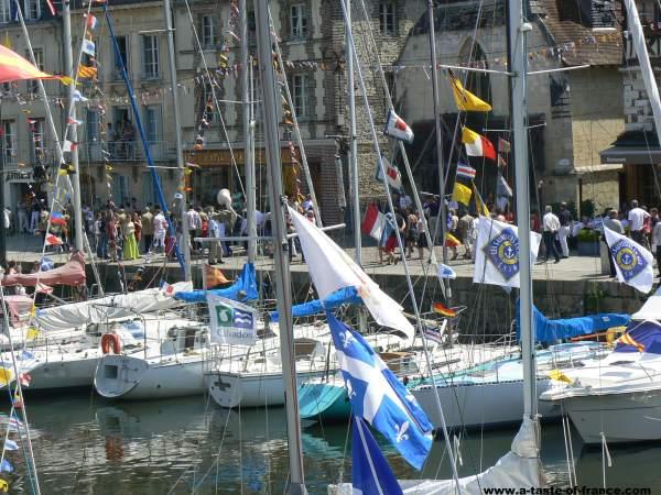Harbour Honfleur Normandy