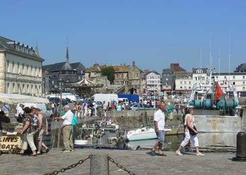 Honfleur France Calvados  Normandy