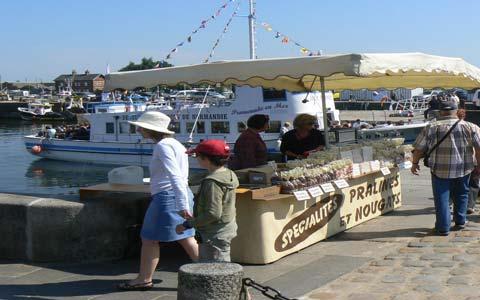 Honfleur boat Calvados Normandy