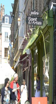 Honfleur street