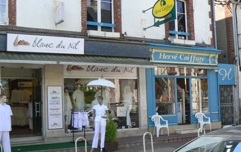 Houlgate shop  Calvados  Normandy