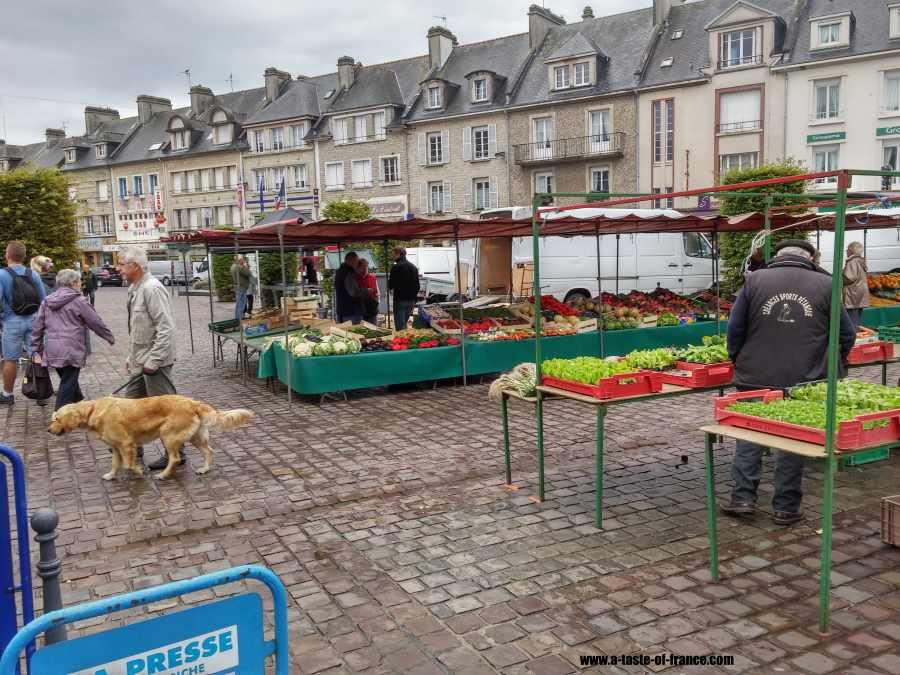 Market in Isigny sur Mer