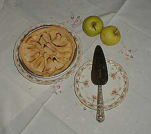 apple tart French picture