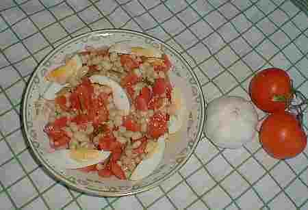 haricot bean salad recipe