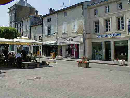 St Jean d Angley French town picture