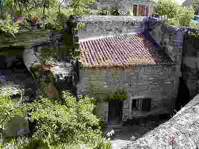 troglodyiques village Rochemenier