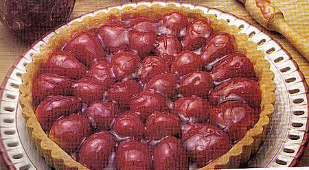 picture of strawberry tart recipe