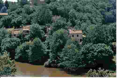 The village of Vouvant