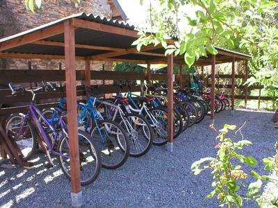 Large selection of bicycles to use