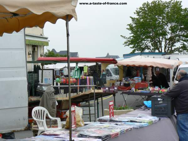 Le Crotoy market